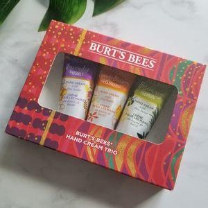 Burt's Bees Hand Cream Trio